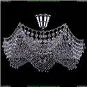 7708/3/Ni Хрустальная потолочная люстра Bohemia Ivele Crystal