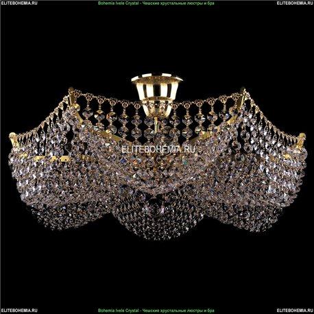 7708/6/G Bohemia Ivele Crystal, Чешская Люстра на штанге с хрустальным рожком