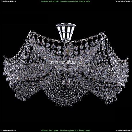 7708/6/Ni Bohemia Ivele Crystal, Чешская Люстра на штанге с хрустальным рожком