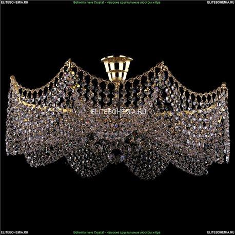 7708/9/G Bohemia Ivele Crystal, Чешская Люстра на штанге с хрустальным рожком