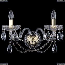 10.11.2.195.XL.Gd.Sp Бра хрустальное Bohemia Art Classic (Арт Классик), 11.11