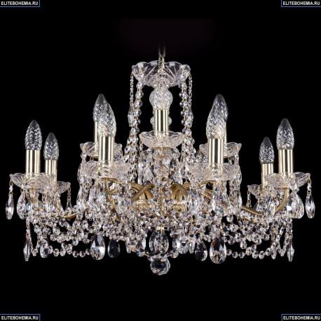 1214/8+4/220/G Хрустальная подвесная люстра Bohemia Ivele Crystal