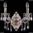 1702B/2/175/B/GW Хрустальное бра Bohemia Ivele Crystal