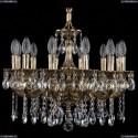 1702/12/175/A/GB Хрустальная подвесная люстра Bohemia Ivele Crystal