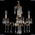 1702/3/175/A/GB Хрустальная подвесная люстра Bohemia Ivele Crystal