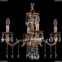 1702/4/175/A/FP Хрустальная подвесная люстра Bohemia Ivele Crystal