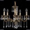1702/5/175/A/GB Хрустальная подвесная люстра Bohemia Ivele Crystal