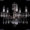 1702/5/175/A/NB Хрустальная подвесная люстра Bohemia Ivele Crystal