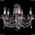 1702/5/175/C/NB Хрустальная подвесная люстра Bohemia Ivele Crystal