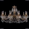1702/10/300/C/FP Хрустальная подвесная люстра Bohemia Ivele Crystal