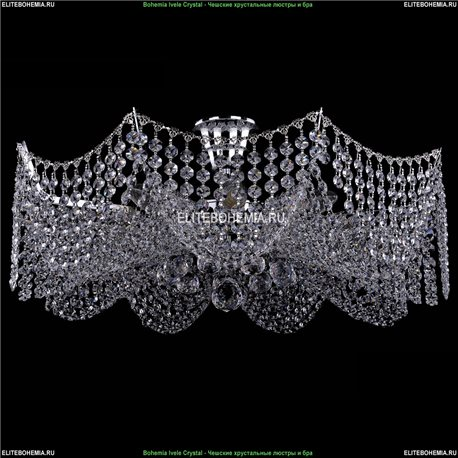 7708/9/Ni Bohemia Ivele Crystal, Чешская Люстра на штанге с хрустальным рожком