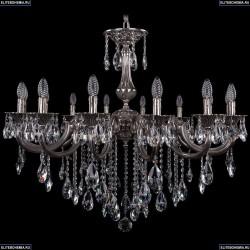 1702/14/300/B/NB Хрустальная подвесная люстра Bohemia Ivele Crystal