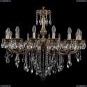 1702/16/300/B/GB Хрустальная подвесная люстра Bohemia Ivele Crystal