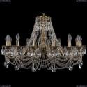 1702/16/300/C/GB Хрустальная подвесная люстра Bohemia Ivele Crystal