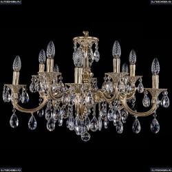 1702/5+5/250+175/A/GW Хрустальная подвесная люстра Bohemia Ivele Crystal