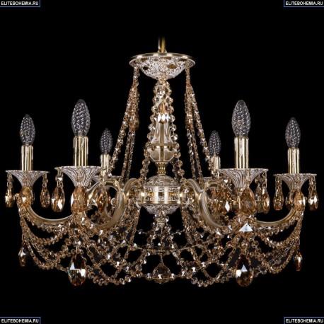 1702/6/250/C/GW/R721 Хрустальная подвесная люстра Bohemia Ivele Crystal
