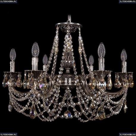 1702/6/250/C/NB/R701 Хрустальная подвесная люстра Bohemia Ivele Crystal