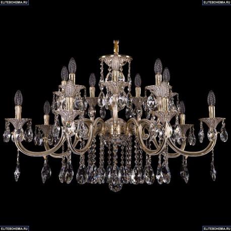 1702/7+7/300+150/A/GW Хрустальная подвесная люстра Bohemia Ivele Crystal