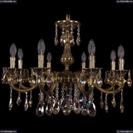 1702/8/250/A/GB/K701 Хрустальная подвесная люстра Bohemia Ivele Crystal