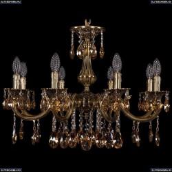 1702/8/250/A/GB/K721 Хрустальная подвесная люстра Bohemia Ivele Crystal