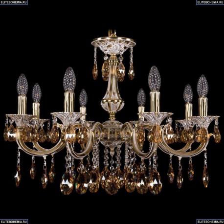1702/8/250/A/GW/K721 Хрустальная подвесная люстра Bohemia Ivele Crystal