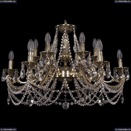 1703/12/320/C/GB Хрустальная подвесная люстра Bohemia Ivele Crystal