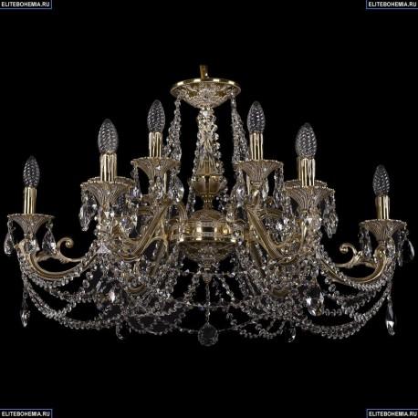 1703/12/320/C/GI Хрустальная подвесная люстра Bohemia Ivele Crystal