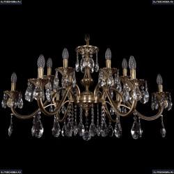 1703/12/360/A/FP Хрустальная подвесная люстра Bohemia Ivele Crystal