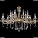 1703/14/320/B/GW Хрустальная подвесная люстра Bohemia Ivele Crystal