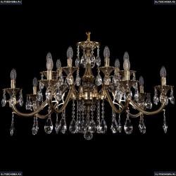 1703/14/360/A/GB Хрустальная подвесная люстра Bohemia Ivele Crystal