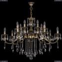 1703/14/360/B/GB Хрустальная подвесная люстра Bohemia Ivele Crystal