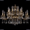 1703/16/225/A/GB Хрустальная подвесная люстра Bohemia Ivele Crystal