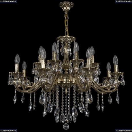 1703/16/320/B/GB Хрустальная подвесная люстра Bohemia Ivele Crystal