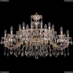 1703/24/360/A/GW Большая хрустальная подвесная люстра Bohemia Ivele Crystal