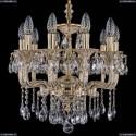 1704/10/UP125IV/A/GW Хрустальная подвесная люстра Bohemia Ivele Crystal