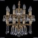 1704/8/UP125IV/A/GB Хрустальная подвесная люстра Bohemia Ivele Crystal