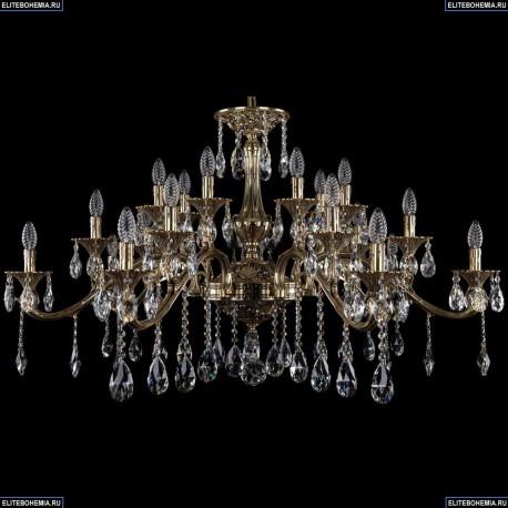 1709/21/410/A/GB Большая хрустальная подвесная люстра Bohemia Ivele Crystal