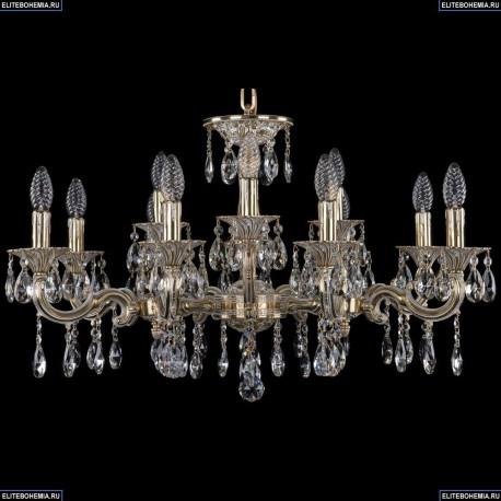 1717/12/A/GW Хрустальная подвесная люстра Bohemia Ivele Crystal