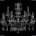 1722/8+4/250+175/A/NB Хрустальная подвесная люстра Bohemia Ivele Crystal