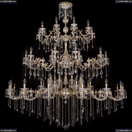 1739/32+18+10/410+300/B/GW Большая хрустальная подвесная люстра Bohemia Ivele Crystal