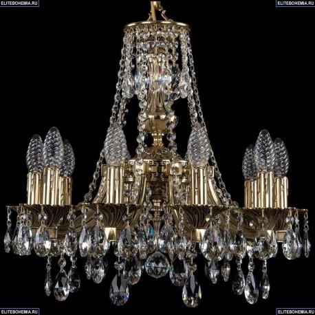1771/10/150/A/GB Хрустальная подвесная люстра Bohemia Ivele Crystal