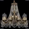 1771/10/150/C/GB Хрустальная подвесная люстра Bohemia Ivele Crystal