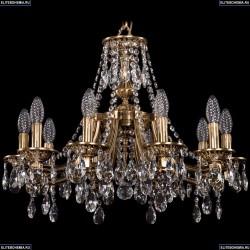 1771/10/190/A/FP Хрустальная подвесная люстра Bohemia Ivele Crystal