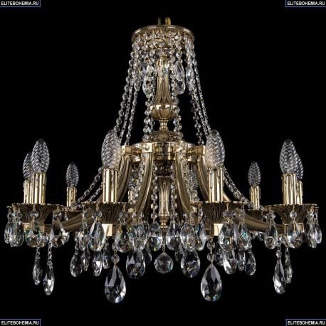 1771/10/190/A/GB Хрустальная подвесная люстра Bohemia Ivele Crystal