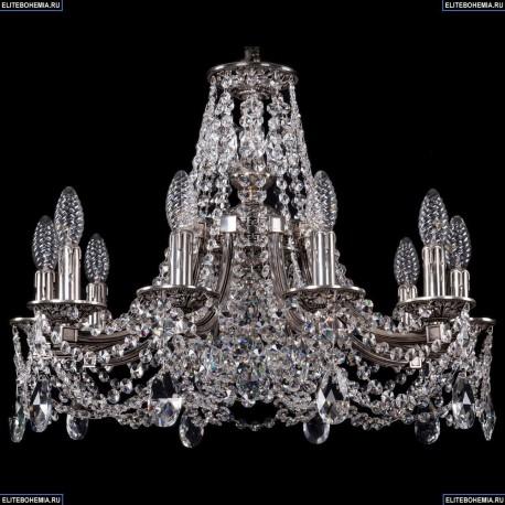 1771/10/190/C/NB Хрустальная подвесная люстра Bohemia Ivele Crystal