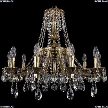 1771/10/220/A/GB Хрустальная подвесная люстра Bohemia Ivele Crystal