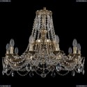 1771/10/220/C/GB Хрустальная подвесная люстра Bohemia Ivele Crystal