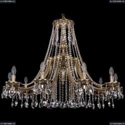 1771/10/340/A/GB Хрустальная подвесная люстра Bohemia Ivele Crystal