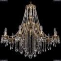 1771/10/340/B/GB Хрустальная подвесная люстра Bohemia Ivele Crystal