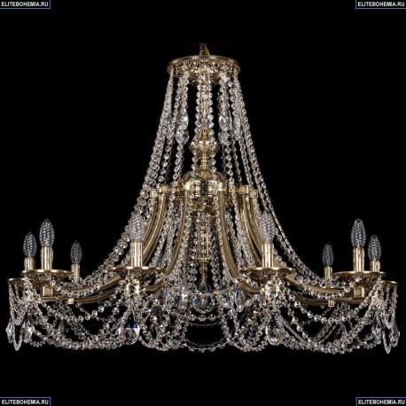 1771/10/340/C/GB Хрустальная подвесная люстра Bohemia Ivele Crystal